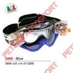 veiligheid-brillen-progrip-3468-blauw MET ROLLOFF