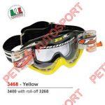 veiligheid-brillen-progrip-3468-geel MET ROLLOFF